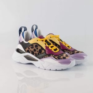 SNEAKER GUESS FURNER LEOPARDO