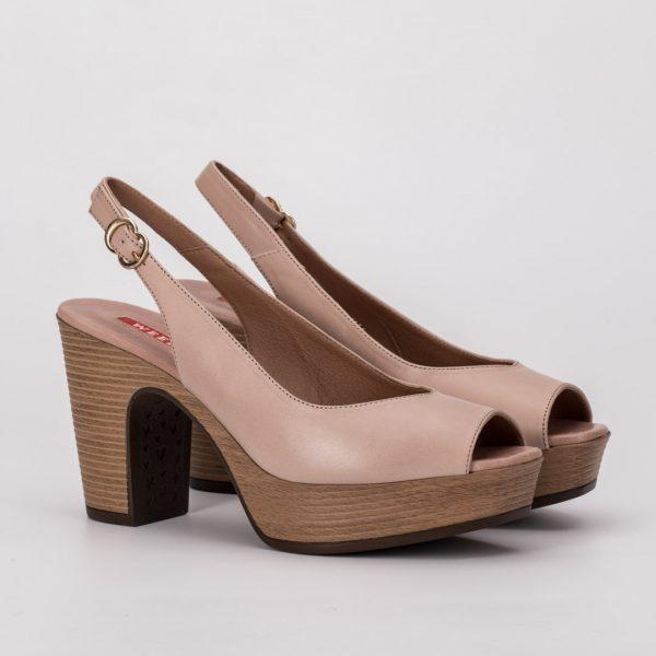 Zapato cómodo weekend rosa, zapato rosa comunión, zapato weekend 2021