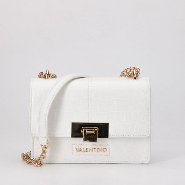 VALENTINO VBS5AT03 BOLSO ANASTASIA BLANCO, bolso Valentino blanco bandolera coco