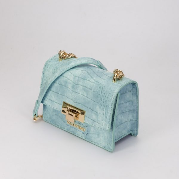 Valentino VBS5AT03 BOLSO ANASTASIA AZUL, bolso bandolera coco azul cielo, bolsos de vestir